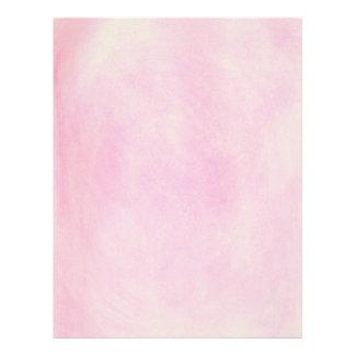 Pink Blends Baby Shower Letterhead