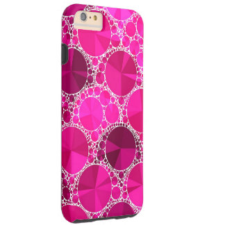Pink Bling Tough iPhone 6 Plus Case