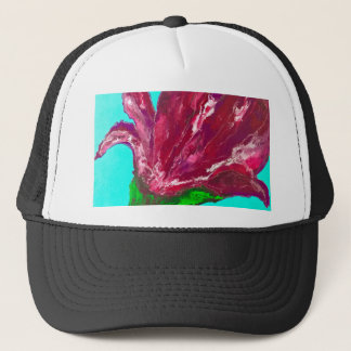 Pink Bloom Trucker Hat