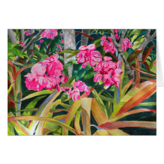 Pink Blooms Card