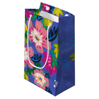 Pink Blooms Gift Bag- Small Small Gift Bag