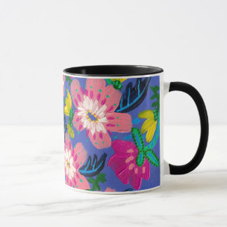 Pink Blooms Mug