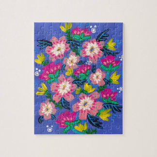 Pink Blooms Puzzle