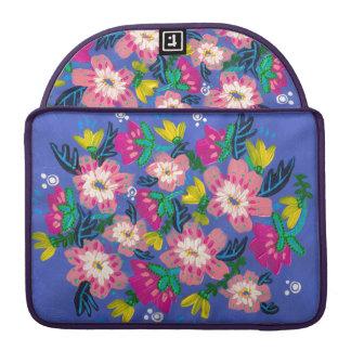 Pink Blooms Rickshaw Laptop Sleeve