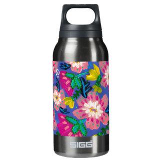 Pink Blooms Smoked Pearl Sigg Bottle