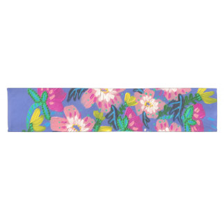 Pink Blooms Table Runner