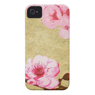 Pink Blossom Blackberry Case