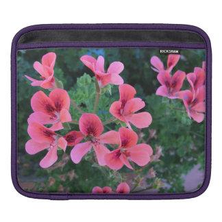 Pink blossoms iPad sleeve