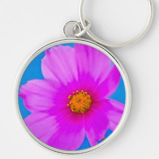 Pink Blossoms Key Chain