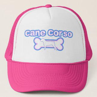Pink & Blue Cane Corso Trucker Hat