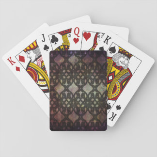 Pink Blue Geo Standard Playing Cards