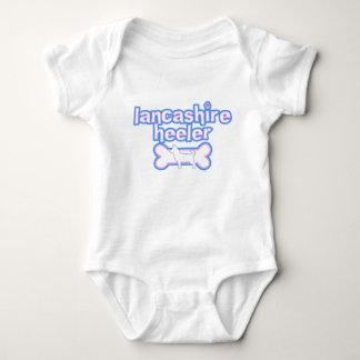 Pink & Blue Lancashire Heeler Baby Creeper