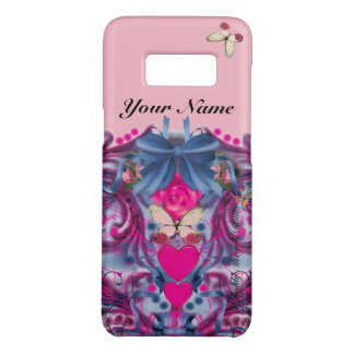 Pink & Blue Mardis Gras Hearts, Bows & Butterflies Case-Mate Samsung Galaxy S8 Case