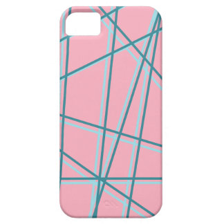 Pink + Blue Pop Art Lines Case! iPhone 5 Cases