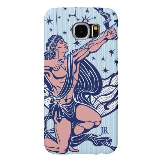 Pink & Blue Sagittarius Astrological Sign GR3 Samsung Galaxy S6 Cases