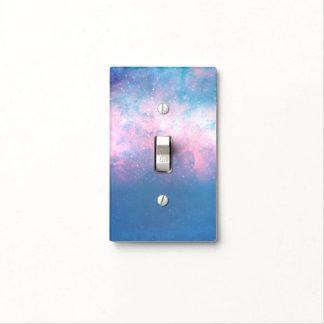 Pink & Blue Starry Sky Cosmic Galaxy Sky Celestial Light Switch Cover