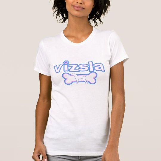 Pink & Blue Vizsla T-Shirt