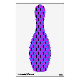 Pink Blue Zigzag 4Buddy Wall Sticker