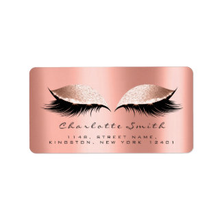 Pink Blush Makeup Lashes RSVP Coral Rose Label