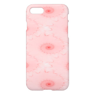 Pink Blush Nautilus Abstract iPhone 7 Case