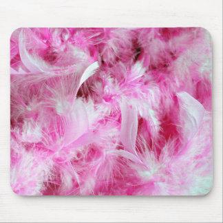 Pink Boa Mouse Pad
