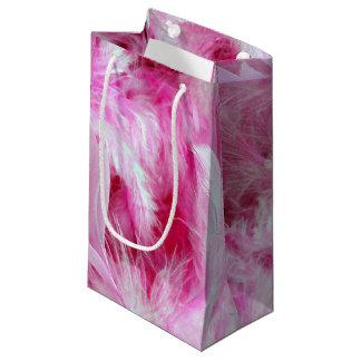 Pink Boa Small Gift Bag