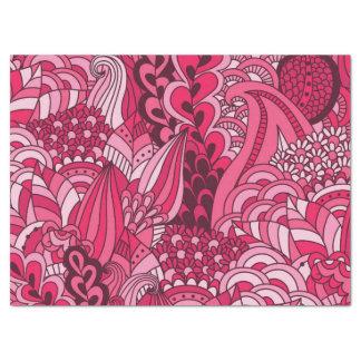 Pink Bohemian Boho MOD Hippy Chic Pattern Tissue Paper
