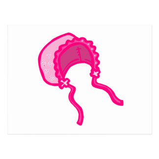 Pink Bonnet Postcard