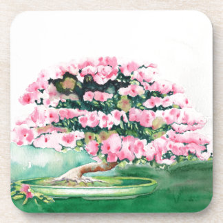 Pink Bonsai Coaster