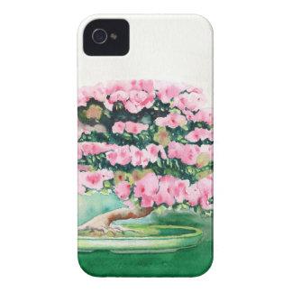 Pink Bonsai iPhone 4 Case-Mate Case