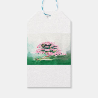 Pink Bonsai Pack Of Gift Tags