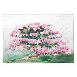 Pink Bonsai Placemat