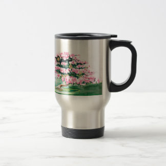 Pink Bonsai Travel Mug