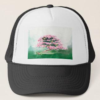 Pink Bonsai Trucker Hat
