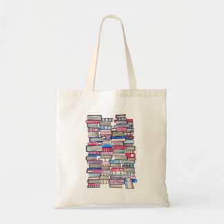 Pink Books Tote
