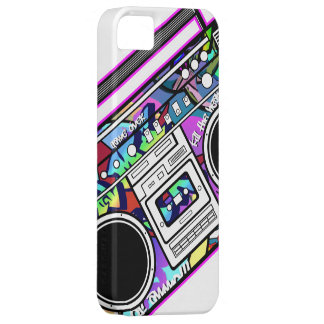 Pink Boombox iPhone 5 Cover