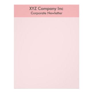 pink border full color flyer