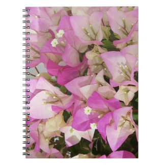 Pink Bougainvillea Flowers Photo Notebook