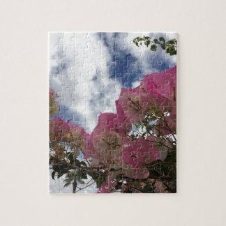 Pink bougainvillea jigsaw puzzle
