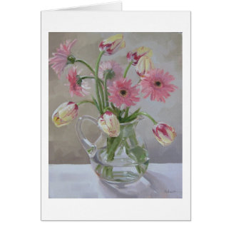 """Pink Bouquet"" Card"