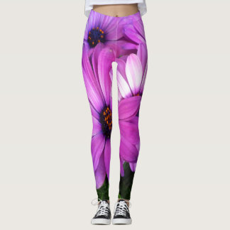 Pink Bouquet Sexy Womens Attitude Flower Leggings