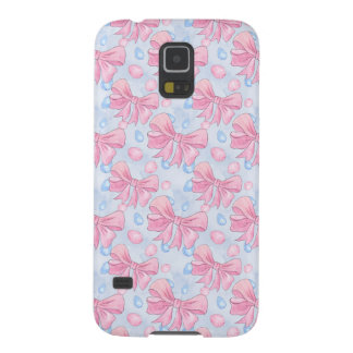 Pink Bow Galaxy S5 Cover