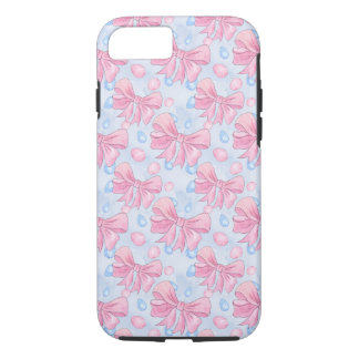 Pink Bow iPhone 8/7 Case