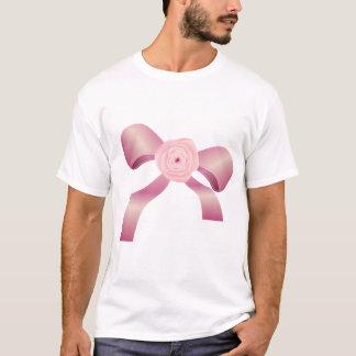 Pink Bow Mens T-Shirt