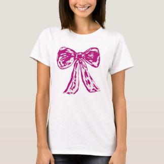 Pink Bow T- Shirt