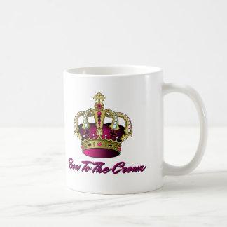 Pink Bow To The Crown Funny Coffee Mug