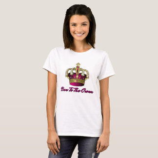 Pink Bow To The Crown Funny T-Shirt