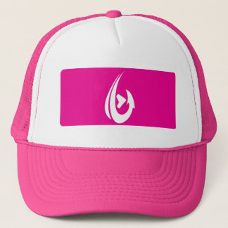 Pink Box Trucker Hat