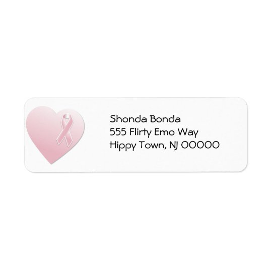 Pink Breast Cancer Heart