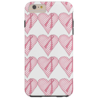Pink Breast Cancer Heart Iphone 6 Case